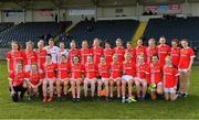 1 March 2020; The Cork panel prior to the Lidl Ladies National Football League Division 1 match between Cork and Mayo at Mallow GAA Complex in Cork. Photo by Seb Daly/Sportsfile