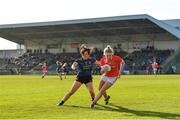 1 March 2020; Katie Quirke of Cork in action against Noirin Moran of Mayo during the Lidl Ladies National Football League Division 1 match between Cork and Mayo at Mallow GAA Complex in Cork. Photo by Seb Daly/Sportsfile