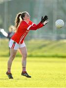 1 March 2020; Aisling Hutchings of Cork during the Lidl Ladies National Football League Division 1 match between Cork and Mayo at Mallow GAA Complex in Cork. Photo by Seb Daly/Sportsfile