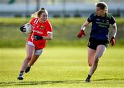 1 March 2020; Sadbh O'Leary of Cork in action against Nicola O'Malley of Mayo during the Lidl Ladies National Football League Division 1 match between Cork and Mayo at Mallow GAA Complex in Cork. Photo by Seb Daly/Sportsfile