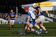 1 March 2020; Darragh Lyons of Waterford and Paul Flynn of Tipperary during the Allianz Hurling League Division 1 Group A Round 5 match between Tipperary and Waterford at Semple Stadium in Thurles, Tipperary. Photo by Ramsey Cardy/Sportsfile