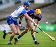 1 March 2020; Séamus Callanan of Tipperary and Conor Prunty of Waterford during the Allianz Hurling League Division 1 Group A Round 5 match between Tipperary and Waterford at Semple Stadium in Thurles, Tipperary. Photo by Ramsey Cardy/Sportsfile