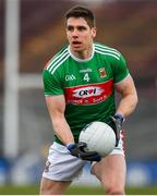 1 March 2020; Lee Keegan of Mayo during the Allianz Football League Division 1 Round 5 match between Mayo and Kerry at Elverys MacHale Park in Castlebar, Mayo. Photo by Brendan Moran/Sportsfile
