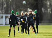 2 March 2020; Grace Moloney during a Republic of Ireland Women training session at Johnstown House in Enfield, Co Meath. Photo by Seb Daly/Sportsfile