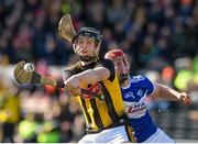 1 March 2020; Walter Walsh of Kilkenny in action against Matthew Whelan of Laois during the Allianz Hurling League Division 1 Group B Round 5 match between Laois and Kilkenny at UPMC Nowlan Park in Kilkenny. Photo by Michael P Ryan/Sportsfile