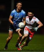 29 February 2020; Paul Mannion of Dublin in action against Padraig Hampsey of Tyrone during the Allianz Football League Division 1 Round 5 match between Tyrone and Dublin at Healy Park in Omagh, Tyrone. Photo by David Fitzgerald/Sportsfile