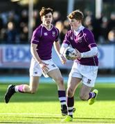 2 March 2020; Peter Maher of Clongowes Wood College during the Bank of Ireland Leinster Schools Senior Cup Semi-Final between Clongowes Wood College and St Vincent's, Castleknock College, at Energia Park in Donnybrook, Dublin. Photo by Ramsey Cardy/Sportsfile