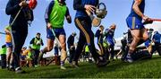 1 March 2020; Clare players make their way to the warm-up area before the Allianz Hurling League Division 1 Group B Round 5 match between Clare and Dublin at Cusack Park in Ennis, Clare. Photo by Ray McManus/Sportsfile