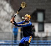 1 March 2020; Eibhear Quilligan of Clare during the Allianz Hurling League Division 1 Group B Round 5 match between Clare and Dublin at Cusack Park in Ennis, Clare. Photo by Ray McManus/Sportsfile