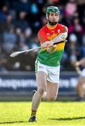 1 March 2020; David English of Carlow during the Allianz Hurling League Division 1 Group B Round 5 match between Wexford and Carlow at Chadwicks Wexford Park in Wexford. Photo by David Fitzgerald/Sportsfile