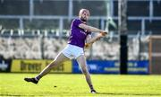 1 March 2020; Paudie Foley of Wexford during the Allianz Hurling League Division 1 Group B Round 5 match between Wexford and Carlow at Chadwicks Wexford Park in Wexford. Photo by David Fitzgerald/Sportsfile