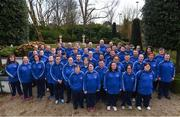 3 March 2020; Special Olympics Team Leinster set their sights on Northern Ireland. Pictured are all of the athletes at the launch at Keadeen Hotel in Newbridge, Kildare. Photo by Harry Murphy/Sportsfile