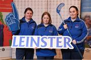3 March 2020; Special Olympics Team Leinster set their sights on Northern Ireland. Pictured are the Royals Rovers Special Olympics Club athletes, Orla Houlihan, Regina Rattigan and Michelle Murphy at the launch at the Keadeen Hotel in Newbridge, Kildare. Photo by Harry Murphy/Sportsfile