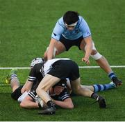 3 March 2020; Mark Dennis of Newbridge College during the Bank of Ireland Leinster Schools Senior Cup Semi-Final match between St Michael's College and Newbridge College at Energia Park in Donnybrook, Dublin. Photo by Ramsey Cardy/Sportsfile