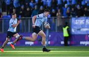 3 March 2020; Lee Barron of St Michael's College during the Bank of Ireland Leinster Schools Senior Cup Semi-Final match between St Michael's College and Newbridge College at Energia Park in Donnybrook, Dublin. Photo by Ramsey Cardy/Sportsfile