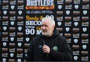 3 March 2020; CFAI Chairman Joe O'Brien following the Rustlers CFAI Cup Final match between IT Sligo and IT Carlow at Athlone Town Stadium in Athlone, Co Westmeath. Photo by Stephen McCarthy/Sportsfile