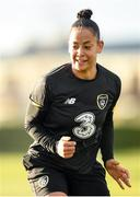 4 March 2020; Rianna Jarrett during a Republic of Ireland Women training session at Johnstown Estate in Enfield, Co Meath. Photo by Eóin Noonan/Sportsfile