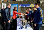5 March 2020; Catherine, Duchess of Cambridge meets with Seamus Callanan of Tipperary at Salthill Knocknacarra GAA Club in Galway a during day three of their visit to Ireland. Photo by Sam Barnes/Sportsfile