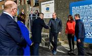 5 March 2020; Prince William, Duke of Cambridge, meets with Minister of State for Tourism and Sport Brendan Griffin T.D, at Salthill Knocknacarra GAA Club in Galway a during day three of their visit to Ireland. Photo by Sam Barnes/Sportsfile