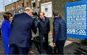 5 March 2020; Prince William, Duke of Cambridge, meets with Uachtarán Chumann Lúthchleas Gael John Horan at Salthill Knocknacarra GAA Club in Galway a during day three of their visit to Ireland. Photo by Sam Barnes/Sportsfile