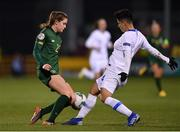 5 March 2020; Heather Payne of Republic of Ireland in action against Danai-Eleni Sidira of Greece during the UEFA Women's 2021 European Championships Qualifier match between Republic of Ireland and Greece at Tallaght Stadium in Dublin. Photo by Seb Daly/Sportsfile
