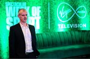 6 March 2020; Virgin Media Head of News Mick McCaffrey during the Virgin Media Television's Spectacular Week of Sport event at The Alex Hotel in Dublin. Photo by Stephen McCarthy/Sportsfile