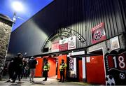 6 March 2020; Supporters make their way into the ground prior to the SSE Airtricity League Premier Division match between Bohemians and Shelbourne at Dalymount Park in Dublin. Photo by Eóin Noonan/Sportsfile
