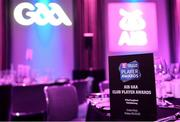 6 March 2020; A general view of the room prior to the AIB GAA Club Players' Awards at Croke Park in Dublin. Photo by Sam Barnes/Sportsfile