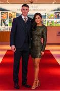 6 March 2020; Ronan Steede of Corofin and Jessica Loftus arrive prior to the AIB GAA Club Players' Awards at Croke Park in Dublin. Photo by Ramsey Cardy/Sportsfile