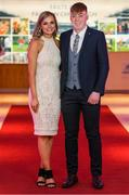 6 March 2020; Evan Shefflin of Ballyhale Shamrocks and Martina Balcer arrive prior to the AIB GAA Club Players' Awards at Croke Park in Dublin. Photo by Ramsey Cardy/Sportsfile