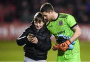 6 March 2020; Bohemians goalkeeper Stephen McGuinness poses for a photograph following the SSE Airtricity League Premier Division match between Bohemians and Shelbourne at Dalymount Park in Dublin. Photo by Stephen McCarthy/Sportsfile