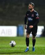 6 March 2020; Dane Massey of Dundalk during the SSE Airtricity League Premier Division match between Finn Harps and Dundalk at Finn Park in Ballybofey, Donegal. Photo by Ben McShane/Sportsfile