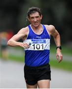 7 March 2020; Brendan Boyce of Finn Valley AC, Donegal, competing during the Irish Life Health National 20k Walks Championships at St Anne's Park in Raheny, Dublin. Photo by Ramsey Cardy/Sportsfile