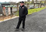 7 March 2020; Tyrone manager Paul Devlin before the EirGrid Ulster GAA Football U20 Championship Final match between Tyrone and Donegal at St Tiernach's Park in Clones, Monaghan. Photo by Oliver McVeigh/Sportsfile