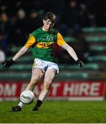 4 March 2020; Ruaidhrí Ó Beaglaoich of Kerry during the EirGrid Munster GAA Football U20 Championship Final match between Kerry and Cork at Austin Stack Park in Tralee, Kerry. Photo by Piaras Ó Mídheach/Sportsfile