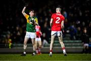 4 March 2020; Ruaidhrí Ó Beaglaoich of Kerry claims an advanced mark during the EirGrid Munster GAA Football U20 Championship Final match between Kerry and Cork at Austin Stack Park in Tralee, Kerry. Photo by Piaras Ó Mídheach/Sportsfile