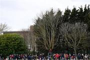 23 February 2020; A general view of spectators during the 2020 Lidl Ladies National Football League Division 1 Round 4 match between Dublin and Galway at Dublin City University Sportsgrounds in Glasnevin, Dublin. Photo by Piaras Ó Mídheach/Sportsfile