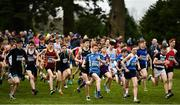 7 March 2020; A general view of runners competing in the Junior Boys race during the Irish Life Health All-Ireland Schools Cross Country Championships at Santry Demesne in Santry, Dublin. Photo by David Fitzgerald/Sportsfile