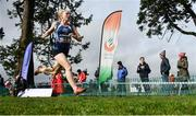 7 March 2020; Muireann Donohue of Loreto Mullingar, Co Westmeath competing in the Minor Girls race during the Irish Life Health All-Ireland Schools Cross Country Championships at Santry Demesne in Santry, Dublin. Photo by David Fitzgerald/Sportsfile