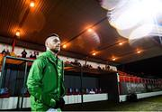 7 March 2020; Jack Byrne of Shamrock Rovers ahead of the SSE Airtricity League Premier Division match between Sligo Rovers and Shamrock Rovers at The Showgrounds in Sligo. Photo by Stephen McCarthy/Sportsfile