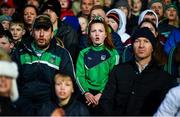 7 March 2020; Spectators during the Allianz Hurling League Division 1 Group A Round 3 match between Limerick and Waterford at LIT Gaelic Grounds in Limerick. Photo by Diarmuid Greene/Sportsfile