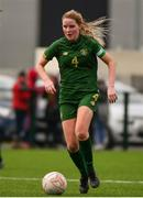 7 March 2020; Jessie Stapleton of Republic of Ireland during the Women's Under-15s John Read Trophy match between Republic of Ireland and England at FAI National Training Centre in Dublin. Photo by Sam Barnes/Sportsfile