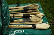 7 March 2020; Limerick players' spare hurleys on the sideline during the Allianz Hurling League Division 1 Group A Round 3 match between Limerick and Waterford at LIT Gaelic Grounds in Limerick. Photo by Diarmuid Greene/Sportsfile