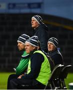 7 March 2020; Limerick manager John Kiely alongside physio Mark Melbourne, Dr James Ryan, and selector Alan Cunningham during the Allianz Hurling League Division 1 Group A Round 3 match between Limerick and Waterford at LIT Gaelic Grounds in Limerick. Photo by Diarmuid Greene/Sportsfile