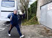 8 March 2020; Tipperary manager Liam Sheedy arrives ahead of the Allianz Hurling League Division 1 Group A Round 3 match between Galway and Tipperary at Pearse Stadium in Salthill, Galway. Photo by Sam Barnes/Sportsfile