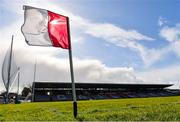 8 March 2020; A general view of a sideline flag ahead of the Allianz Hurling League Division 1 Group A Round 3 match between Galway and Tipperary at Pearse Stadium in Salthill, Galway. Photo by Sam Barnes/Sportsfile