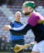 8 March 2020; Galway manager Shane O'Neill watches on during the warm up ahead of the Allianz Hurling League Division 1 Group A Round 3 match between Galway and Tipperary at Pearse Stadium in Salthill, Galway. Photo by Sam Barnes/Sportsfile