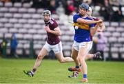 8 March 2020; Jason Forde of Tipperary shoots to score his side's third goal during the Allianz Hurling League Division 1 Group A Round 3 match between Galway and Tipperary at Pearse Stadium in Salthill, Galway. Photo by Sam Barnes/Sportsfile