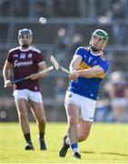 8 March 2020; John O'Dwyer of Tipperary scores a point during the Allianz Hurling League Division 1 Group A Round 3 match between Galway and Tipperary at Pearse Stadium in Salthill, Galway. Photo by Sam Barnes/Sportsfile