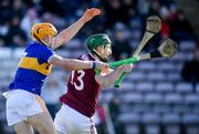 8 March 2020; Conor Cooney of Galway in action against Ronan Maher of Tipperary during the Allianz Hurling League Division 1 Group A Round 3 match between Galway and Tipperary at Pearse Stadium in Salthill, Galway. Photo by Sam Barnes/Sportsfile